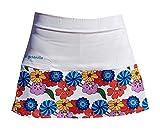 El Gusanillo - Falda de pádel o Tenis Lule Blanca (S)