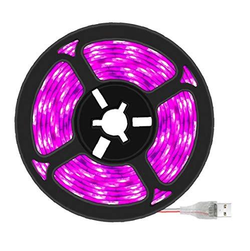 USB 3m LED Luces de la Planta de Gaza de la lámpara a Prueba de Agua Planta Planta de Crecimiento Crecimiento Lámpara Full Spectrum