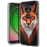 Yoedge Motorola Moto G7 Play Hülle, Silikon TPU