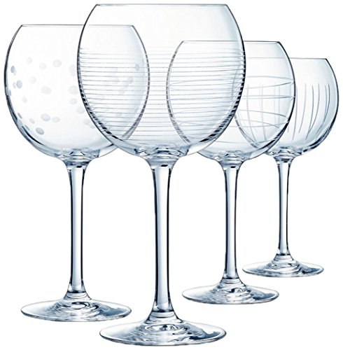ECLAT L7560 Coffret de 4 verres Ballon 47 cl ILLUMINATION - LUMINARC Cristallin, Transparent