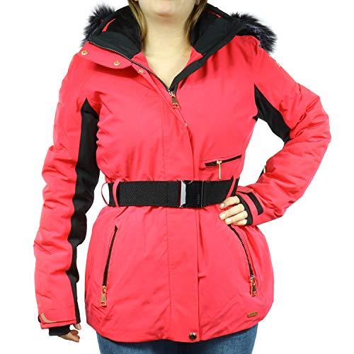 LUHTA dames winter jas Bieta L7 roze 232434393L7