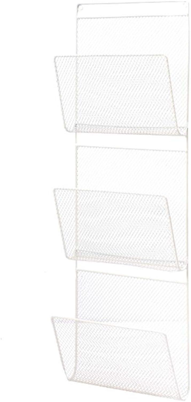 Bookcase Magazine Rack Simple Fashion Large Capacity Wall-Mounted Home Multi-Function Storage Rack Rack ==