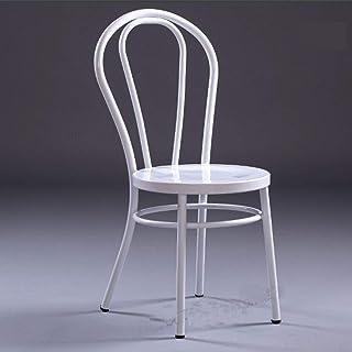 Fhw Sillas ejecutivas, sillas de reclinación Salón del Metal del Estilo Retro de la Cocina Familiar Sala de Inicio Mueble sólido Sillas de Comedor Acolchada Silla de Oficina Sillas de oficina
