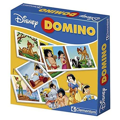 Clementoni - 12459 - Jeu éducatif - Domino Pocket - Assortiment