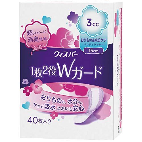 P&G『ウィスパー1枚2役Wガード3cc/15cm』