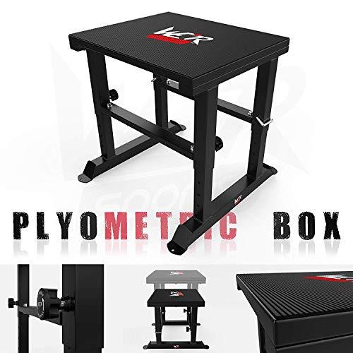 We R Sports Fitness Adjustable Plyometric Box 40 To 61cm Step Plyo Box Jump Crossfit Exercise