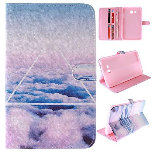 Skytar Galaxy Tab 3 Lite 7 Zoll Hülle,Schutzhülle für Tab3 7.0 Lite - Bookstyle Stand Case Cover in PU Leder Hülle für Samsung Galaxy Tab 3 7.0 Lite (SM-T110/T111/T113/T116) Tablet Tasche Schutzhülle