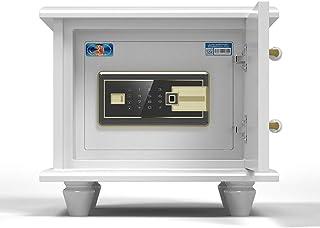 Wall Safes Bedside Fingerprint Safe Household Small Safe Smart Hidden Safe Mini Invisible Locker Cash Jewel Gun Safety Saf...