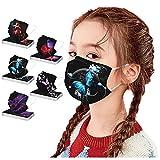 RUITOTP Infantil Niños 3 Capas 50 Unidades con Elástico para Los Oídos Neckerchief Chal Bandanas para 2-10 años