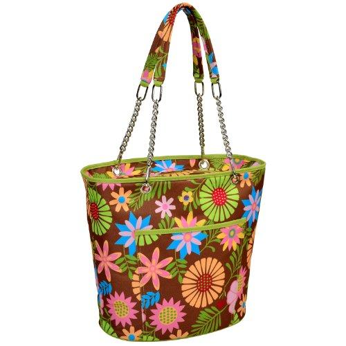 Picnic at Ascot Bolsa térmica grande con aislamiento – 22 latas – Floral