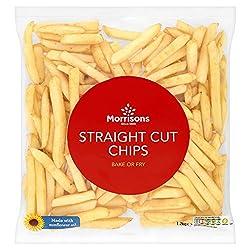 Morrisons Straight Cut Chips, 1.2kg (Frozen)