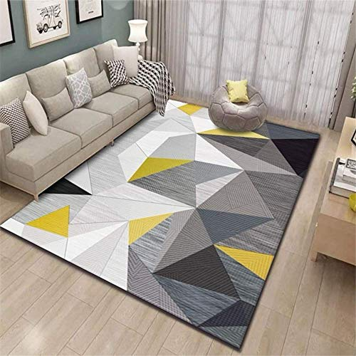 XTUK Home Decoration Rug Doormat Room Non Slip Carpet Bed Rugs Parlor Decor Area Rug Urable Rug Soft Carpet Dining Rooms Family Rooms Hallways Foyers Playrooms Kids Play Mat 100 * 120cm