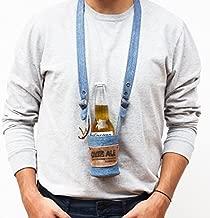 beer holder neck strap