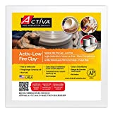ACTIVA Blackjack Low Fire Clay, 5 pounds White