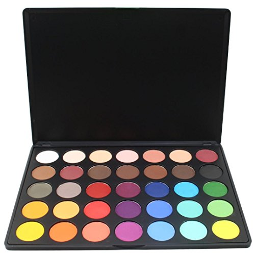 Coloré(TM) Palettes de maquillage 35 couleurs ombre à paupières maquillage cosmétique Shimmer Matte fard à paupières palette (C)