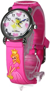 BOUTIQUES Kids Watch 3D Cartoon Pattern Silicone Band Multi Colors Waterproof Watch Gift for Little Girls Boys