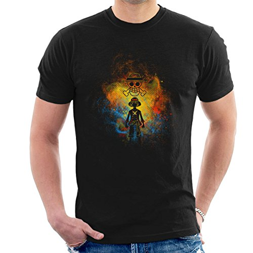 Pirate Art Monkey D Luffy One Piece Men's T-Shirt