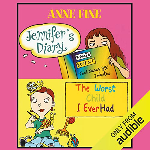 Jennifer's Diary & The Worst Child I Ever Had audiobook cover art
