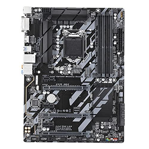 MYHJ Fit for Placa Base Gigabyte GA-Z370 HD3 Z370 HD3 LGA1151 DDR4 Z370 Compatible con Placas Base de computadora I3 8100 I5 8500 I7 8700K