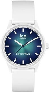 ICE-WATCH - ICE solar power Abyss - Weiße mit Silikonarmband