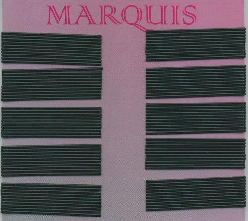 Efalock Professional Marquis Lot de 100 pinces à cheveux Noir 7 cm