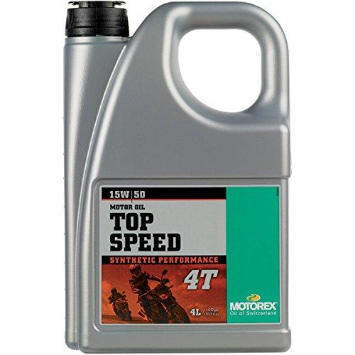 Motorex TOP SPEED 4T 15W50 / 4 Liter