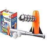 野球 おもちゃ トスマシーン バッティングマシーン 野球 バット 子供用 ファミリースポーツ orange