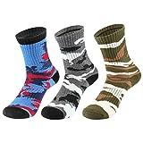innotree 3 Pairs Men's Hiking Socks, Wicking Cushion Thermal Crew...