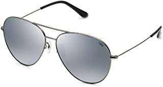 Fashion Round Face Personality Sunglasses Pilot Polarized Sunglasses Retro (Color : E)