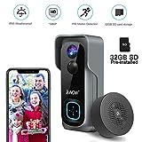 Best Camera Doorbells - Doorbell Camera Video Doorbell Waterproof/1080P HD/32GB Micro SD Review