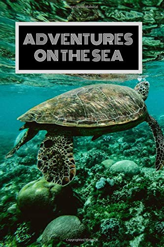 Adventures On The Sea: Daily Travel Journal Diary For Your Cruise