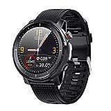 Smartwatch, fitness tracker, monitor della pressione sanguigna, misuratore di ossigeno nel sangue, cardiofrequenzimetro, orologio IP68 per uomo Smartwatch compatibile con telefoni Android per iPhone