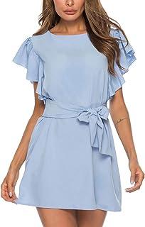 Vestidos para Niña Vestidos para Boda De Día Vestidos De Fiesta Cortos Elegantes para Bodas Vestidos Largos De Verano Casual Vestidos Mujer Verano 2019 Vestidos