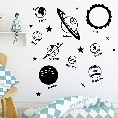 Tianpengyuanshuai Mooie kinderkamer acryldecoratie woonkamer hoofddecoratie vinyl muursticker