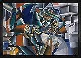 1art1 Kazimir Malévich - El Afilador de Cuchillos Principio de la Animación, 1913 Felpudo Alfombra (70 x 50cm)