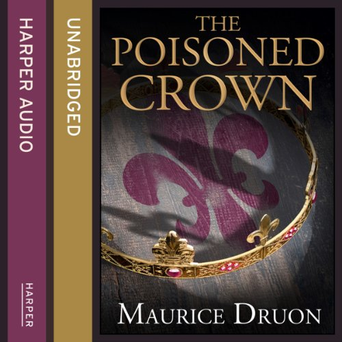 The Poisoned Crown audiobook cover art