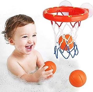 Bath Toys Basketball Frame & Balls Playset for Boys and Girls - Bathtub Shooting Game - Kid & Toddler Bath Toys Gift Set -...