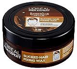 L'Oréal Men Expert Barber Club Slicked Hair Fixing Wax, Haarwax für einen starken Halt ohne zu verkleben