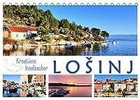Kroatiens Inselzauber, Losinj (Tischkalender 2022 DIN A5 quer): Eine gruene Insel in der azurblauen Adria (Monatskalender, 14 Seiten )