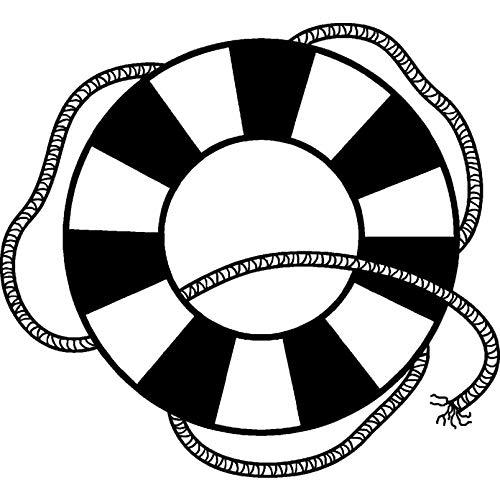 Azeeda A7 'Rettungsring' Stempel (Unmontiert) (RS00006003)