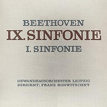 Beethoven: Sinfonie No. 9 & 1