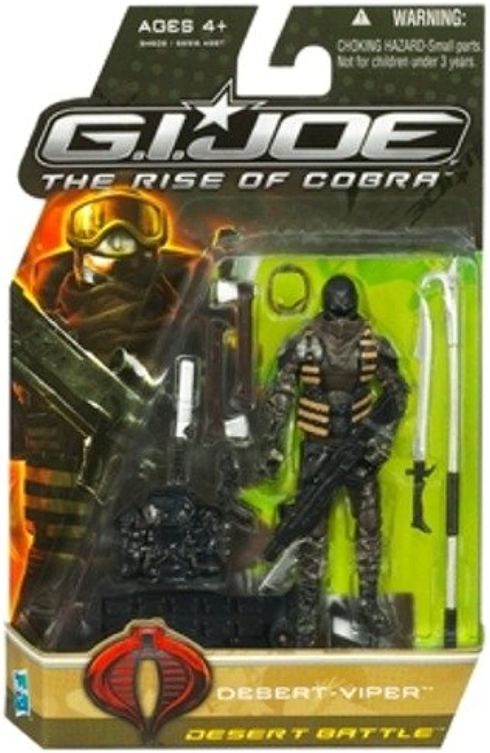G.I. Joe The Rise of Cobra DesertViper Desert Battle Action Figure