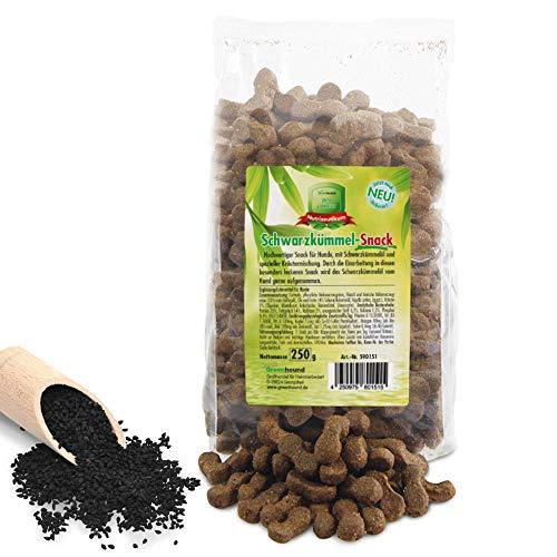 Greenhound Schwarzkümmel-Snack 5 x 250 g hochwertiger Snack