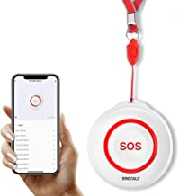 SINGCALL Tuya WiFi Smart SOS Emergency Button Alarm for Handicapped Caregiver Pager Wireless Nurse Alert System for Elderl...