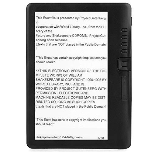Facibom 4 GB Ebook Reader Smart mit 7-Zoll-HD-Bildschirm Digitales E-Book + Video + MP3-Musikplayer-Farbbildschirm ELECTSHONG