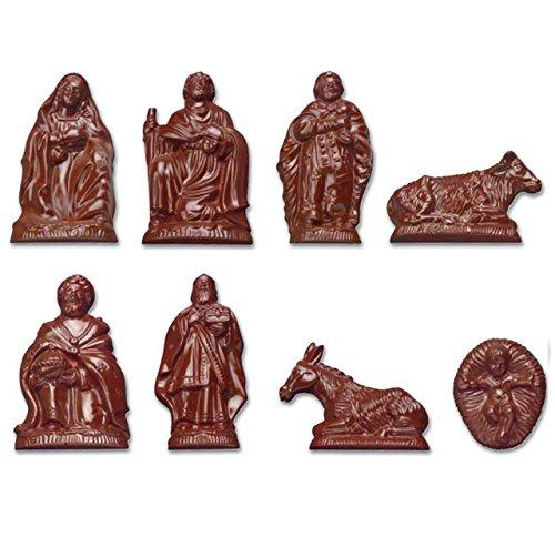 Siccardi Stampo Per Cioccolato In Policarbonato Personaggi Del PRESEPE