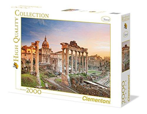 Clementoni 32549.8 - Puzzle High Quality Collection, Forum romanum, 2000 Teile
