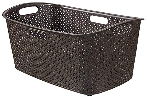 CURVER wasmand MY STYLE 47L wasmand, kunststof, donkerbruin, 60x39x28, 6