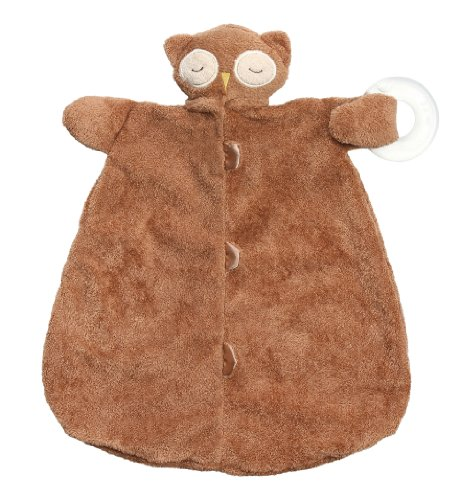 Angel Dear Blankie Teether Sleepy Owl