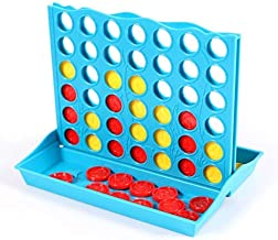 Gags & Practical Jokes - Montessori Mastermind Toys Mini Board Game Code Breaking Intellect Game For Kid,Traveling Toy For Family Funny Development Toys (Line Up 4)